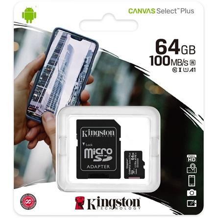 Kingston_64GB_Canvas_Select_Plus_100R_A1_C10_microSDXC_memoriakartya-i900485
